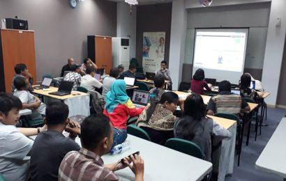 Suasana jumat di kelas sb1m online marketing