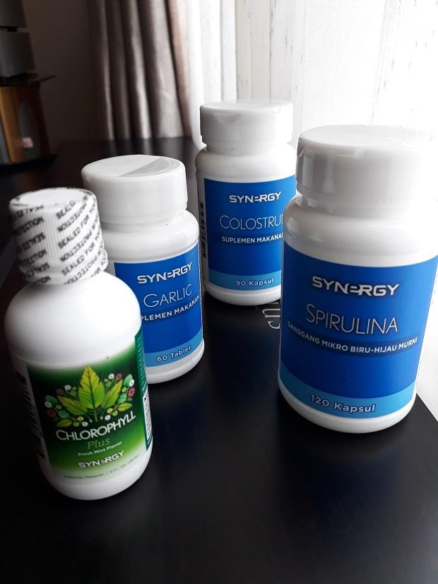 Synergy buat apa supplemen makanan untuk kesehatan ?