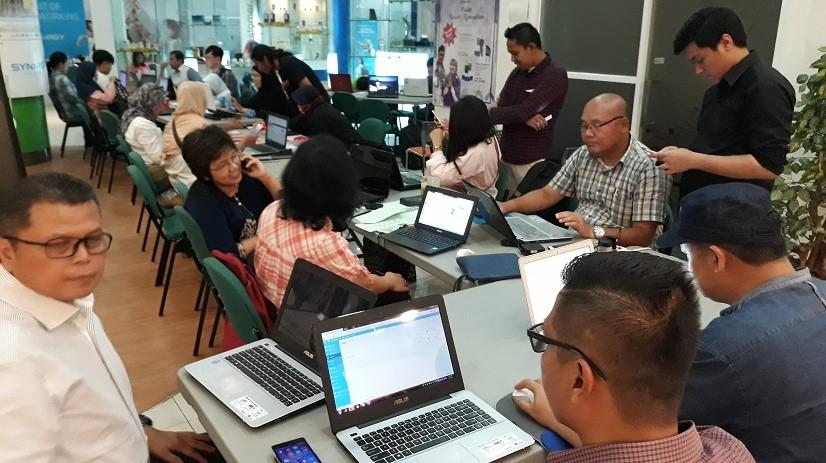 Suasana Kelas Digital Marketing Saat Hari Puasa Pertama 2018