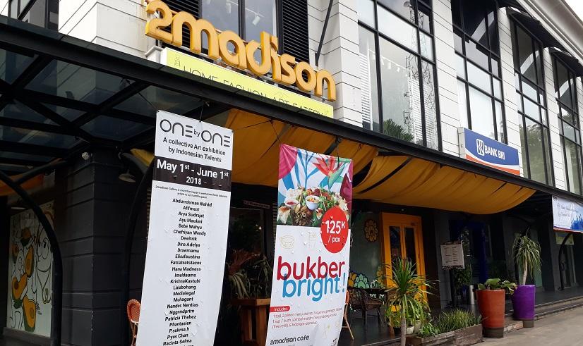 cari udara segar di Jakarta ? 2 madison gallery jl bangka
