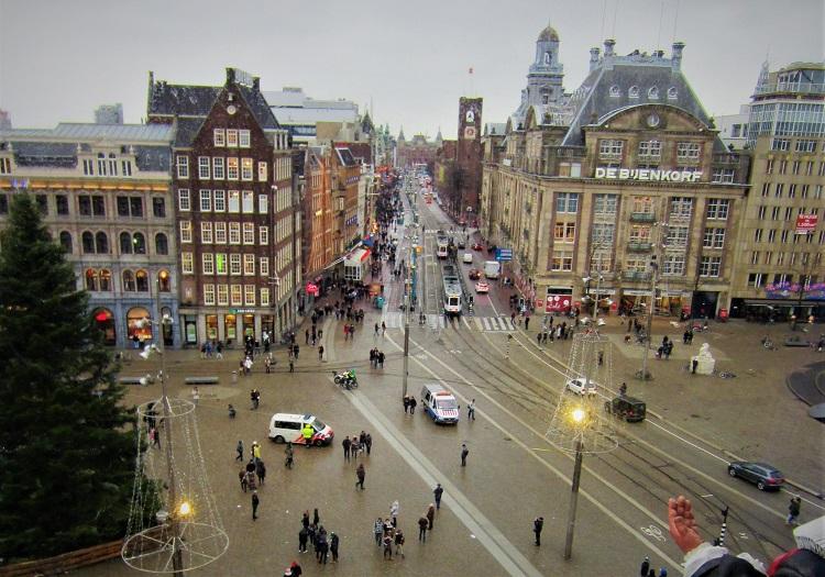 kunjungi madame tussauds selebriti wax museum Amsterdam