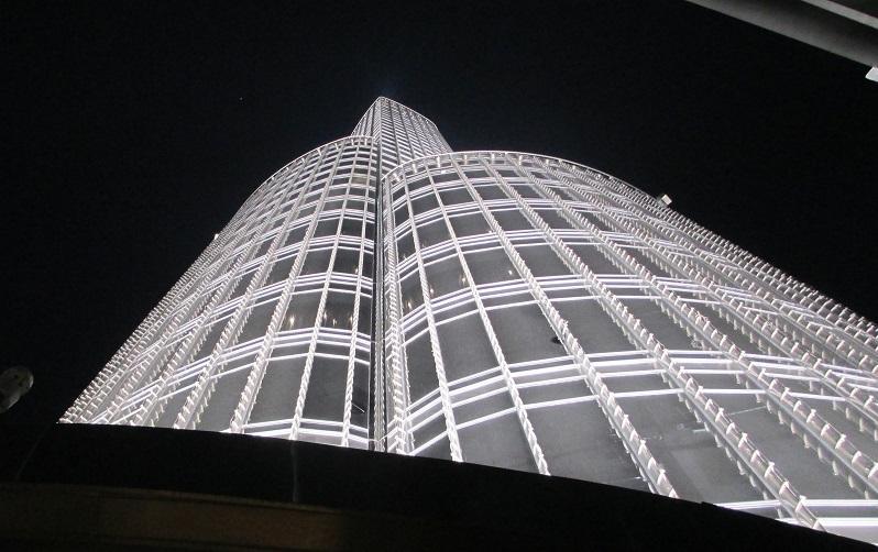 Kunjungan Menara Burj Khalifa saat jalan jalan ke kota Dubai