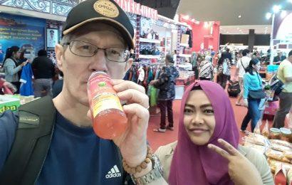Pam Pam Jual Kreasi Jus Bawang Putih Buat Sehat Pekan Raya Jakarta