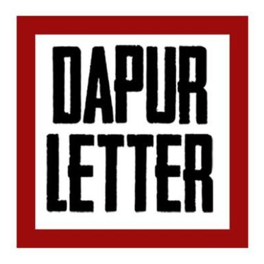Dapur Letter Majalah Independent