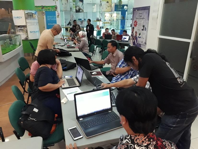 Suasana Kelas Digital Marketing Ketika bulan suci Ramadhan 2018