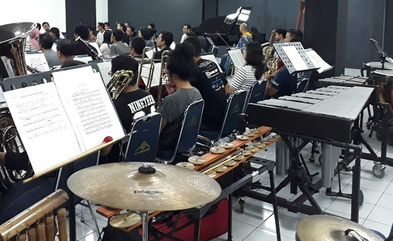 Latihan Jakarta City Philharmonic