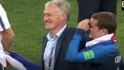 Tim Perancis Juara Dunia Bola