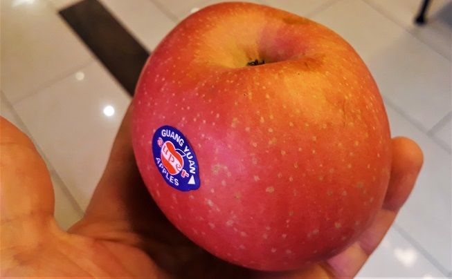 Apel Buah Ajaib Pantas