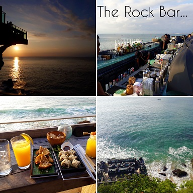 Rock Bar Ayana Hotel Bali the best sunset Rendez-Vous in Bali
